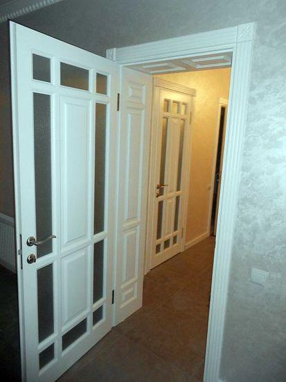 Двері міжкімнатні з масиву 10