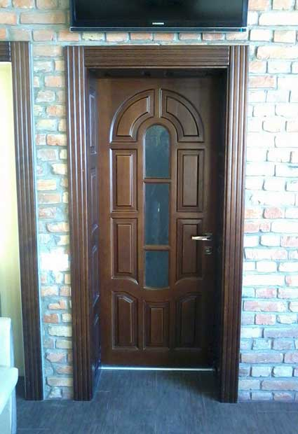 Двері міжкімнатні з масиву 22