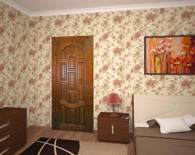 Двері міжкімнатні з масиву 5